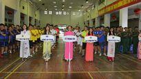 Giao lưu bóng đá Cụm thi đua số 11 TP Hà Nội