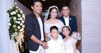 Tình cũ Quý Bình đến chúc phúc Lê Phương trong tiệc cưới tại TP HCM