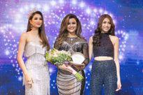 Dàn người đẹp tại họp báo Hoa hậu Hoàn vũ VN
