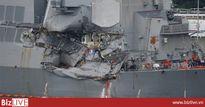 Hoa Kỳ: 10 sỹ quan cao cấp khu trục hạm USS Fitzgerald bị kỷ luật vì vụ va chạm tàu chở hàng