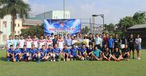 Sôi nổi giao lưu bóng đá Đoàn thanh niên Thanh tra Bộ Xây dựng