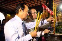 TP.HCM: Dâng hương tưởng niệm Chủ tịch Tôn Đức Thắng