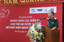 'Trái tim cho em' tổ chức khám sàng lọc bệnh tim miễn phí tại tỉnh Phú Thọ