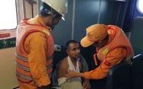 Cứu nạn kịp thời thuyền viên Ấn Độ bị nạn trên biển
