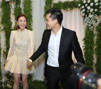 Ngân Khánh lần đầu hé lộ chồng đại gia trước công chúng trong đám cưới Lê Phương