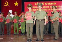 Bế giảng khóa II Đại học An ninh hệ vừa làm vừa học tại An Giang