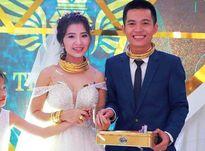 Xôn xao của hồi môn 'khủng' của cô dâu chú rể ở Nghệ An