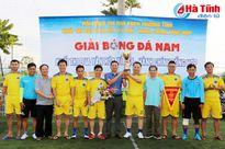 Sở Y tế vô địch Giải bóng đá khối Văn hóa xã hội – Hành chính tổng hợp