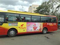 TP.HCM: Sẽ thu 200 tỷ từ quảng cáo trên 2.000 xe buýt