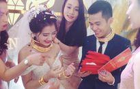 Cô dâu được trao biệt thự, ôtô và cả chục cây vàng trong ngày cưới gây 'sốt'