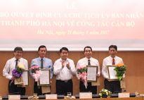 Chủ tịch Hà Nội bổ nhiệm lãnh đạo 4 Sở