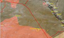 Quân đội Syria sắp bao vây hoàn toàn IS ở phía bắc Palmyra