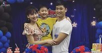Bảo Thanh và chồng hạnh phúc tổ chức sinh nhật tròn 6 tuổi cho con trai