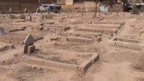 Công viên ở Syria biến thành nghĩa trang vì xác người la liệt