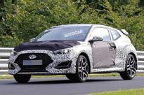 Rò rỉ hình ảnh Hyundai Veloster N - phiên bản hiệu suất cao của mẫu hatchback thể thao Veloster