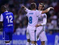 Real đại thắng trên sân đối phương ở vòng mở màn