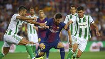 Barca 2-0 Real Betis: Không Neymar – Suarez, Barca vẫn thắng dễ trận mở màn