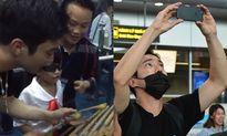 Siwon thích thú chơi nhạc cụ dân tộc, thân thiện với fan ở Đà Nẵng