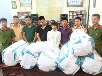'Cắt đứt' đường dây mua bán 120kg cần sa, 3kg ma túy đá về Nghệ An