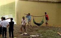 Thi thể thanh niên nổi trên sông Công ở Sóc Sơn