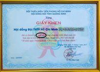 Xôn xao giấy khen ghi sai chính tả ở Quảng Ninh