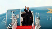Tổng Bí thư lên đường thăm cấp Nhà nước Myanmar