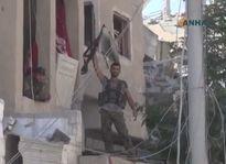 IS bị đánh bật khỏi thành cổ Raqqa (video)
