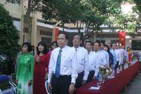 Chủ tịch Ủy ban Mặt trận Tổ quốc Việt Nam Trần Thanh Mẫn dự lễ khai giảng tại Hậu Giang