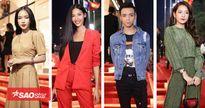 Dàn sao Việt xúng xính váy áo tề tựu sự kiện ngày H&M chào làng: Hoàng Thùy đỏ rực, Soobin chất lừ