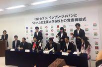 6 trường đại học Việt Nam ký kết với tập đoàn 7-Eleven Japan