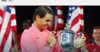 Báo chí thế giới: 'Quái vật' Nadal, một năm kinh ngạc