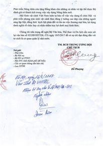 Hết 'nhầm đến lẫn', có lẽ văn thư không báo cáo lãnh đạo Bộ VHTT&DL