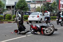 Nam thanh niên trộm xe máy của đôi nam nữ bị tai nạn phải nhập viện cấp cứu