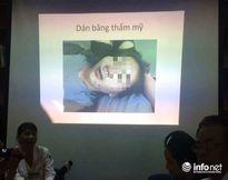 Mất 3 giờ phẫu thuật và hơn 5m chỉ cứu bé gái bị cửa kính găm vào mặt