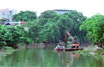 Xử lý vi phạm hành lang sông Nhuệ đoạn qua huyện Thanh Trì: Những nỗ lực đáng ghi nhận