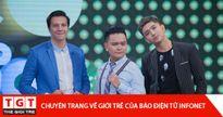 Tim và Trịnh Tú Trung cùng nhau làm giám khảo gameshow truyền hình