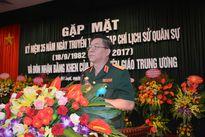 Tạp chí Lịch sử Quân sự Việt Nam đón nhận bằng khen của Ban Tuyên giáo Trung ương