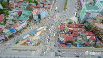 Những nút 'thắt cổ chai' của giao thông Hà Nội nhìn từ trên cao