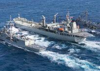 6 tàu chiến Úc tới Biển Đông diễn tập quân sự