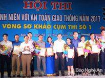 Thanh niên Thái Hòa đạt giải Nhất hội thi về ATGT khu vực miền Tây