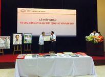 Bảo tàng Hồ Chí Minh tiếp nhận nhiều tài liệu, hiện vật quý về Bác