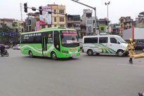 Hà Nội: Đình tài 1 tháng với xe khách dừng, đỗ sai quy định, sai luồng tuyến
