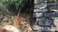 Thanh Hóa: Một góc tường Thành Nhà Hồ bị sạt lở sau bão số 10
