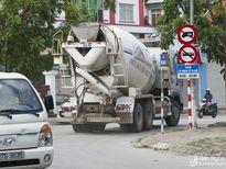 Xe bồn tung hoành đường cấm nội thành Vinh