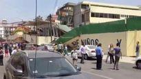 Động đất ở Mexico: Trường học sập khiến 100 học sinh mất tích