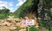 Thanh Hóa: Di sản Thành nhà Hồ bị sạt đổ sau mưa