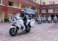 Bộ Công an trang bị thêm 35 môtô 1.300 phân khối