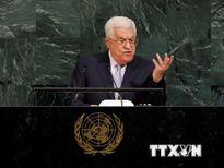 Tổng thống Palestine kêu gọi thúc đẩy giải pháp hai nhà nước