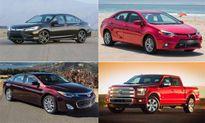 Top 10 xe có phí bảo trì - bảo dưỡng rẻ nhất