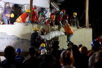 Động đất Mexico: Hối hả cứu người sau khi thấy 'cánh tay cử động'